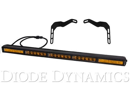 Tundra 30 Inch LED Lightbar Kit Amber Combo Stealth Series Diode Dynamics