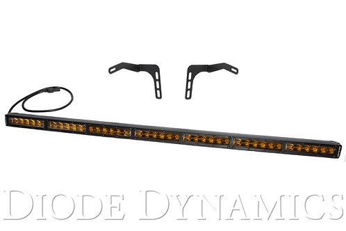Tundra 42 Inch LED Lightbar Kit Amber Driving Diode Stealth Series Dynamics