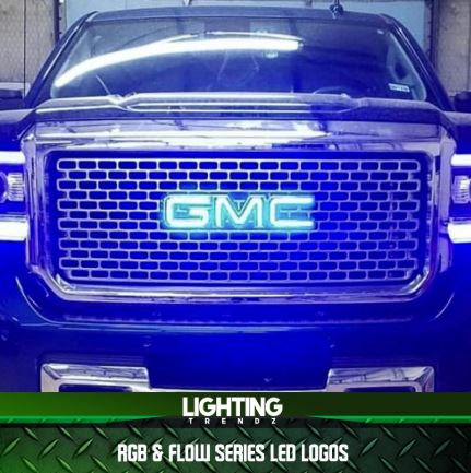 Chevy/GMC Illuminated LED Badges