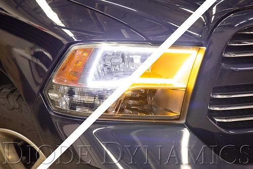 Ram 2009 Quad SB LED Halos Diode Dynamics