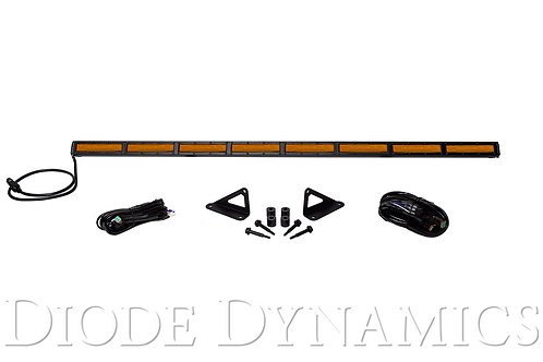 Jeep 2018 SS50 Hood LED Kit Amber Flood Diode Dynamics