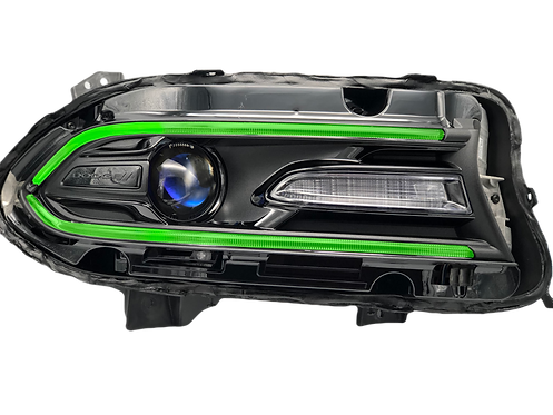 Dodge Charger (15+): Custom Headlights MultiColor RGBW DRL