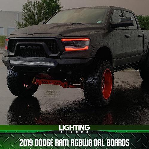 2019 Dodge Ram RGBWA DRL Boards