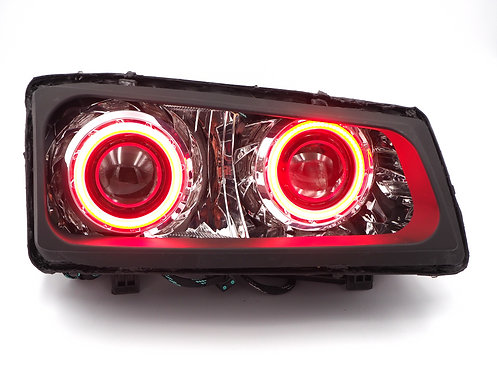 Chevy Silverado (Cateye; 03-07): Custom Headlights Quad HID Projector Stage 2