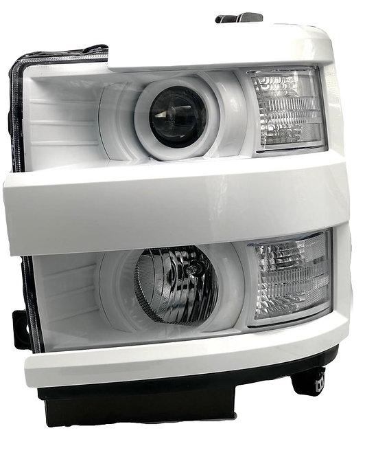 Chevy 2500HD (15-19): Custom  Paint Matched Headlights