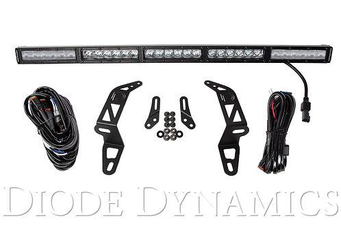 Jeep 2018 SS30 Bumper LED Kit White Combo Single Diode Dynamics