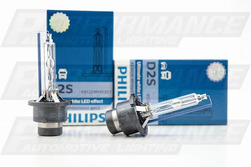 D2S: Phillips 85122 WHV2 White Vision