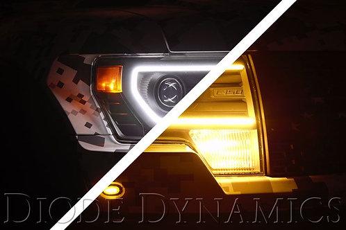 Raptor 2013 Switchback Halo Lights LED Kit Diode Dynamics