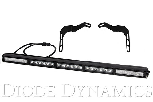 Tundra 30 Inch LED Lightbar Kit White Combo Stealth Series Diode Dynamics