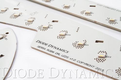 2014-2016 GMC Sierra RGBW DRL LED Boards Diode Dynamics