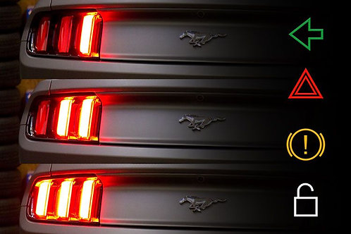 Ford Mustang (10-19): Tail Light Sequencer