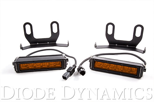 Ram 2013 Standard Stage Series 6 Inch Kit Amber Driving Diode Dynamics