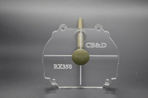 Recessed Retrofit Template Pro Kit RX350