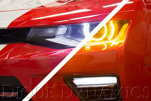 2016-2017 Chevy Camaro Premium Switchback LED Halos Diode Dynamics