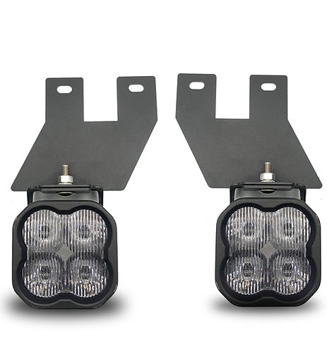 Ford Superduty/Excursion (99-04): SS3 SAE LED Pod Fog Light Kit