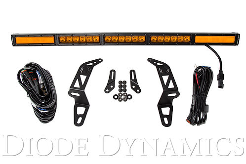 Jeep 2018 SS30 Bumper LED Kit Amber Combo Single Diode Dynamics