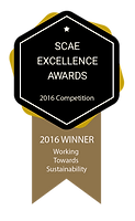 SCAE Excellence Award for Sustainability