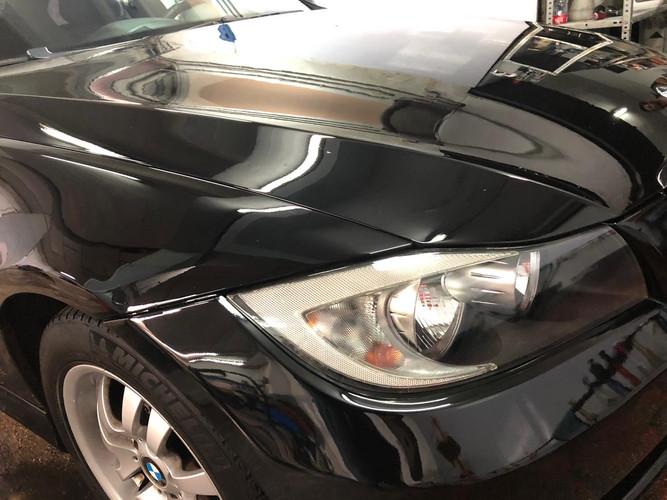 Pulido de carrocería de BMW serie 5