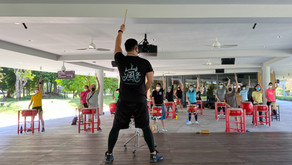 Exercise your Body & Mind | Fitness Drumming at Gardens by the Bay!