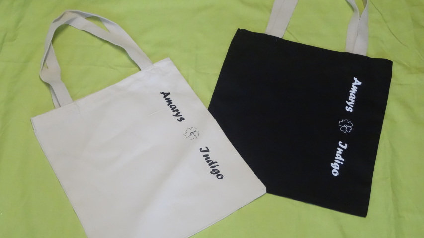 Amarys and Indigo Tote Bag