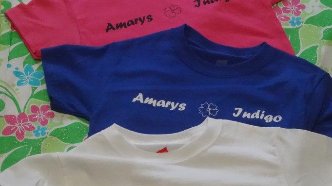 Amarys and Indigo T- Shirts