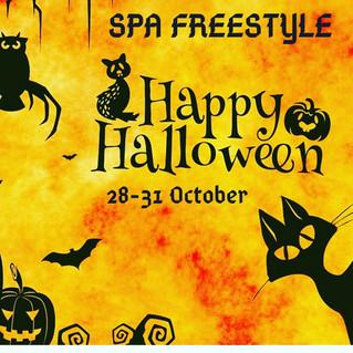 HAPPY Halloween в SPA салоне FREESTYLE! Счасиливый Хелоуин вSPA салоне FREESTYLE!