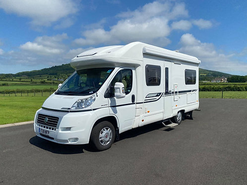 2011 BESSACARR E450 4 BERTH FIXED BED MOTORHOME WITH ONLY 19K MILES