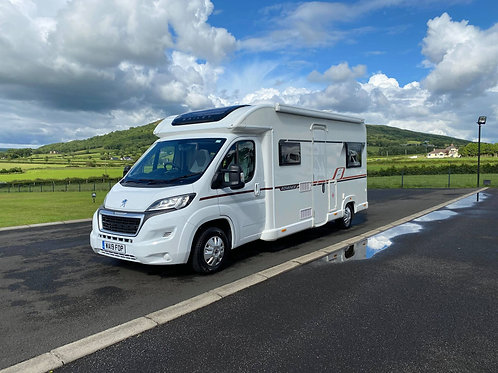 2019 BAILEY ADVANCE 70-6 6 BERTH MOTORHOME WITH ONLY 4K MILES