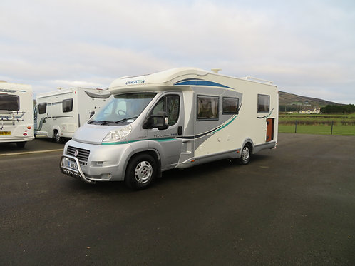 2011 CHAUSSON WELCOME 78EB 3 BERTH FIXED BED 6 SPEED MULTI JET MOTORHOME