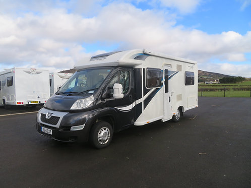 2014 BAILEY APPROACH AUTOGRAPH 4 BERTH FIXED BED MOTORHOME