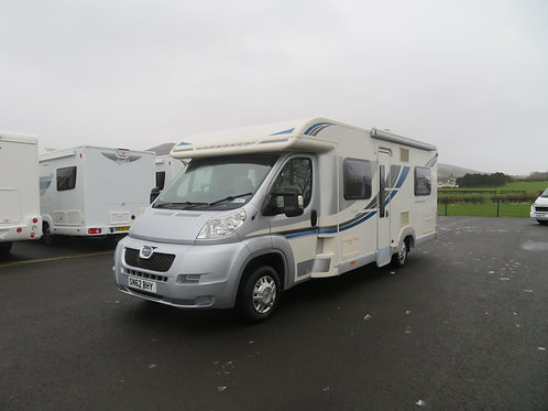 2012 BAILEY APPROACH SE 745 4 BERTH MOTORHOME WITH ONLY 13K MILES ANDERSON MOTOR