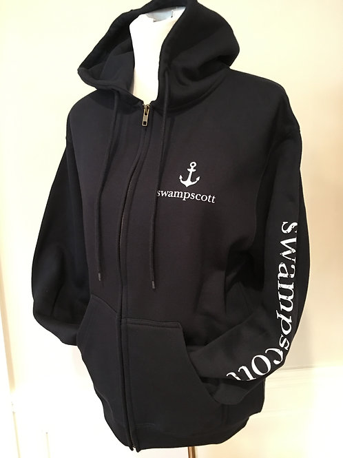 Adult Navy Zip Up Hoodie