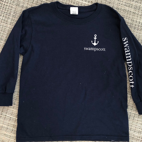 Youth Long Sleeve Navy