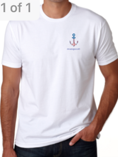 Unisex American Flag Anchor T-Shirts