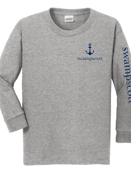 Youth Long Sleeve Grey