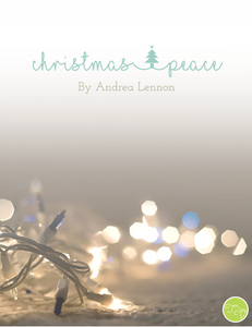 Christmas Peace Cover, Andrea Lennon
