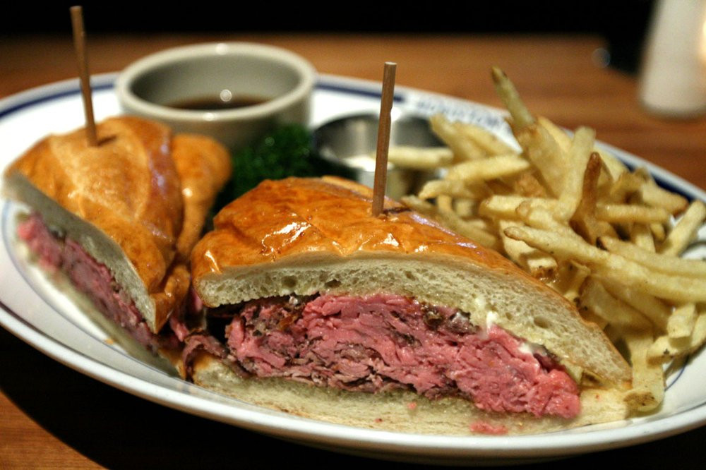 French Dip Sandwiches, Andrea Lennon