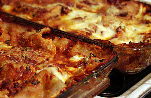 Lasagna from the lean years, andrea lennon