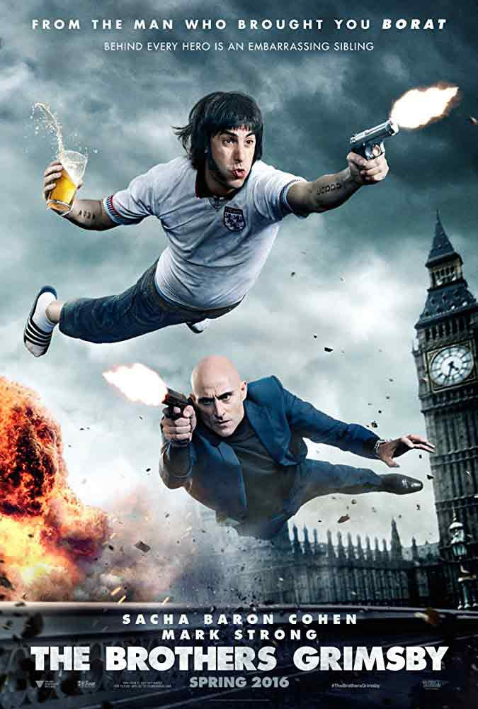 The Brothers Grimsby Film Poster