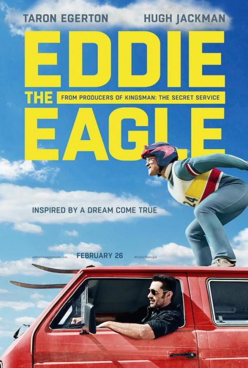 Eddie The Eagle Film Poster