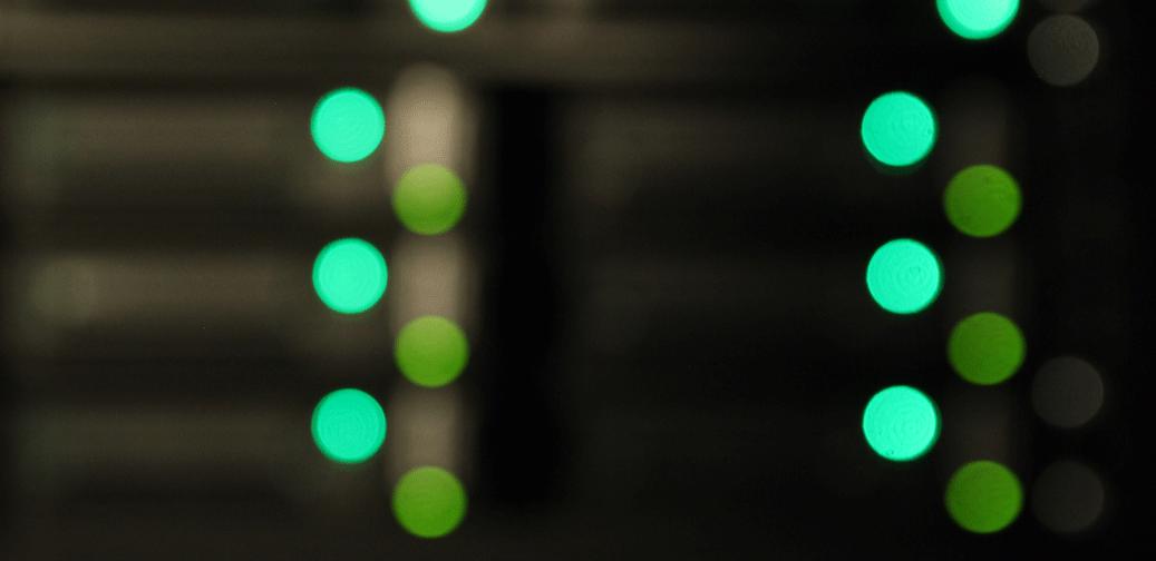 data cabinet lights