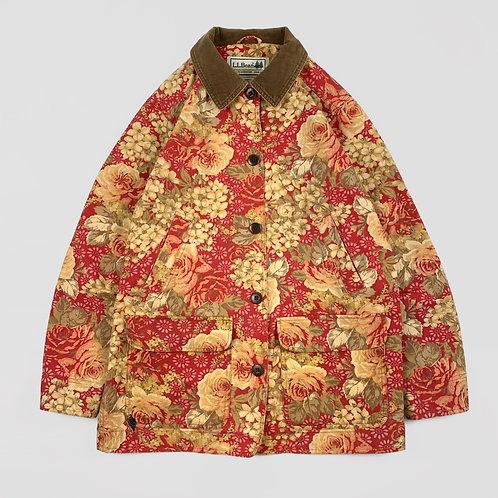 L.L.Bean Floral Field Coat (M)