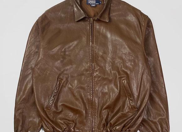 Polo Ralph Lauren Genuine Leather Jacket (L)