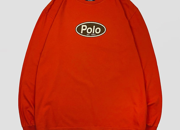 1990s Polo Sport L/s Tee (XL)