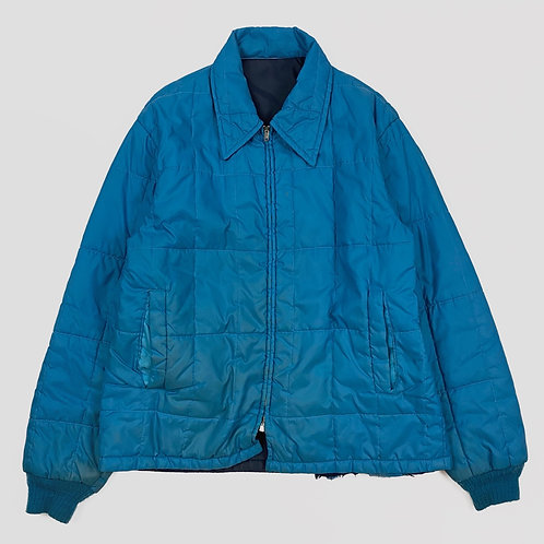 1970s Quilted Nylon Coat (L)