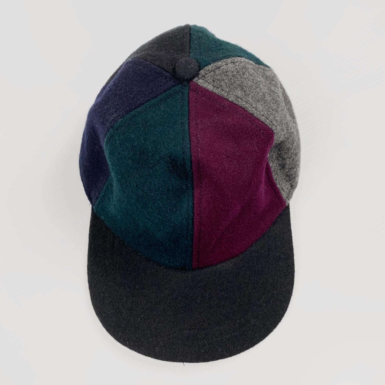 Wool Pinwheel Cap