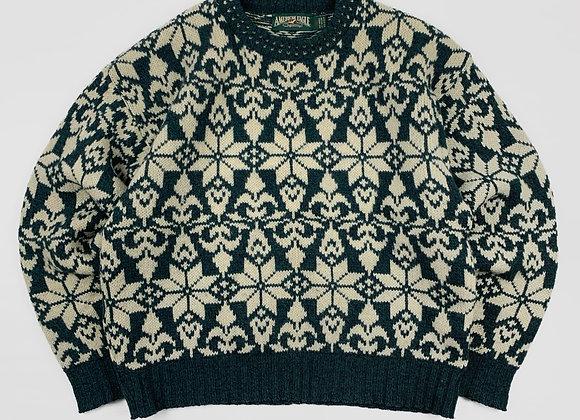 1990s USA Made Wool Sweater (L)