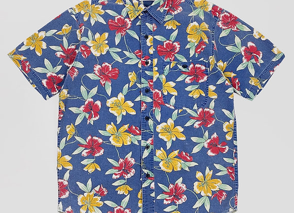 1990s L.L.Bean Floral Shirt (L)