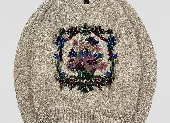 1989 Eddie Bauer Bouquet Sweater (S/M)