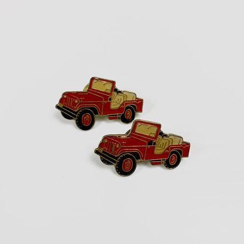 80s Jeep Lapel Pin